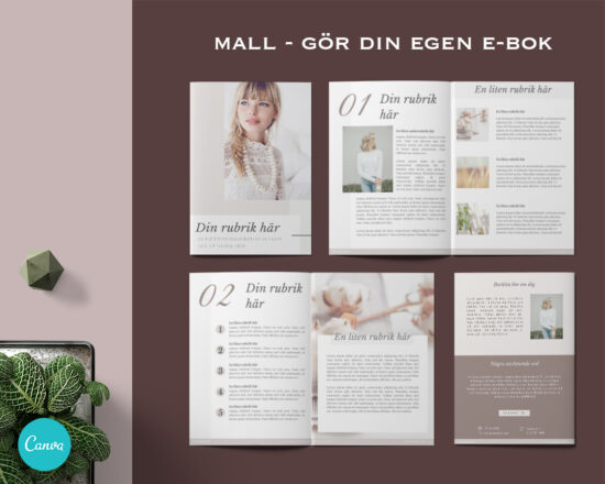 Mall till e-bok