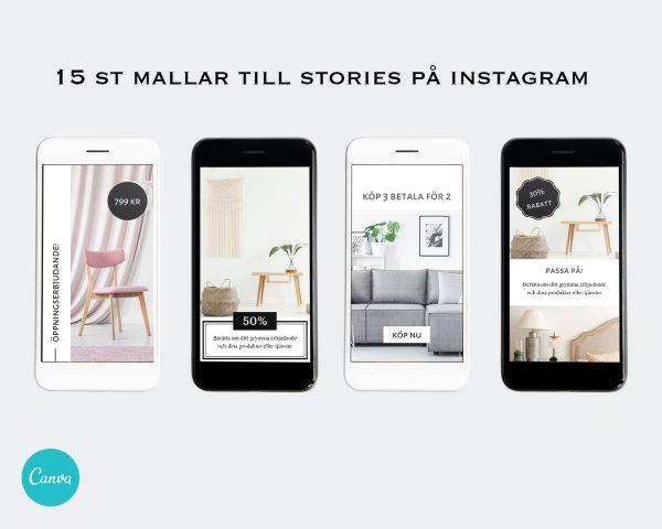 Mallar till stories - Business 5