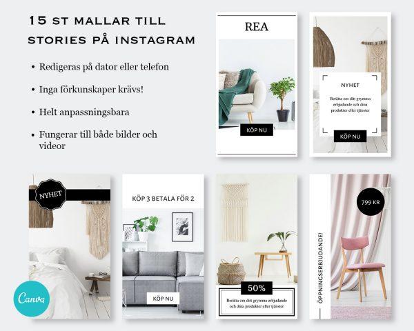 Mallar till stories - Business